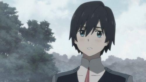 Хиро - главный герой аниме Милый во Франкcе