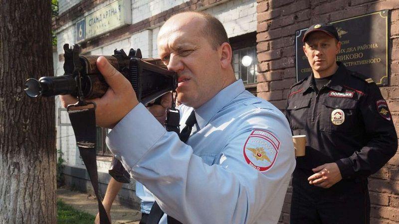 """Кадр из сериала """"Полицейский с Рублевки"""""""