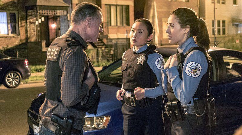 """Кадр из сериала """"Полиция Чикаго"""""""