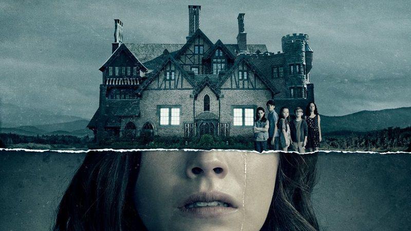"""Постер сериала """"Призраки дома на холме"""""""