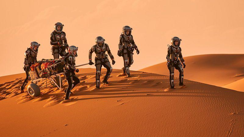 """Кадр из сериала """"Марс"""""""