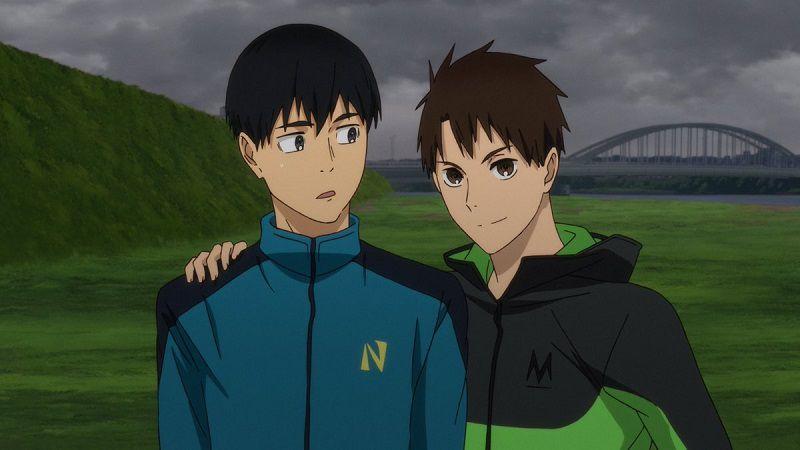 """Кадр из аниме """"Почувствуй ветер"""""""