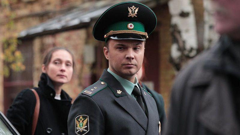 """Кадр из сериала """"Приставы"""""""