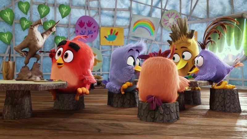 """Кадр из мультфильма """"Angry Birds в кино"""""""