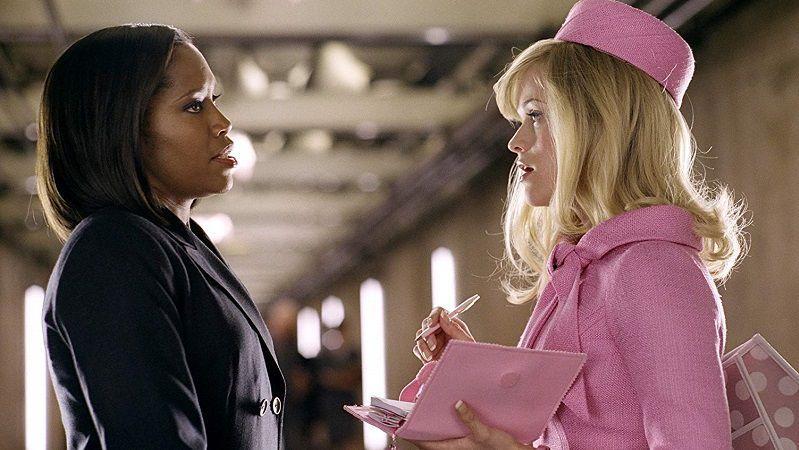 """Кадр из фильма """"Блондинка в законе"""""""