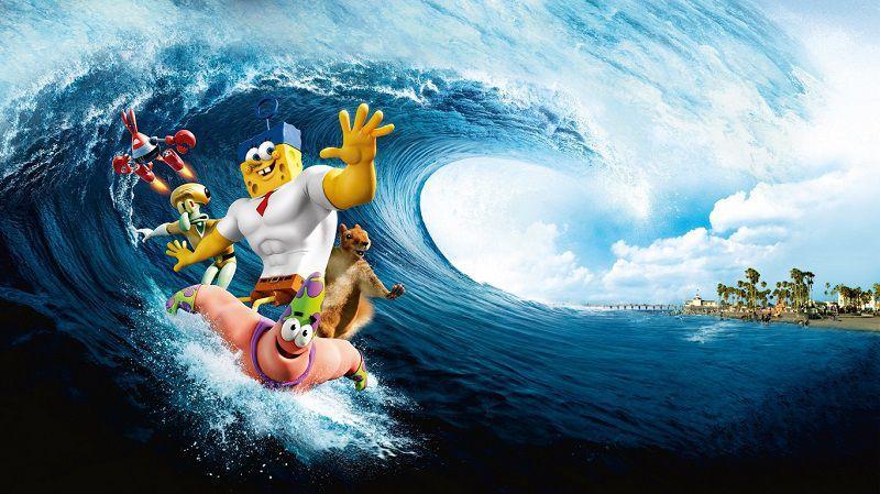 """Постер мультфильма """"Губка Боб в 3D"""""""