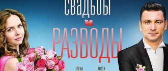 """Постер сериала """"Свадьбы и разводы"""""""