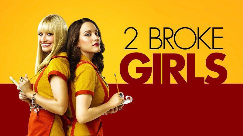"""Постер сериала """"Две девицы на мели"""""""