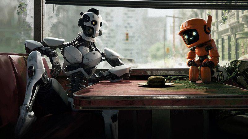 """Кадр из мультсериала """"Любовь, смерть и роботы"""""""