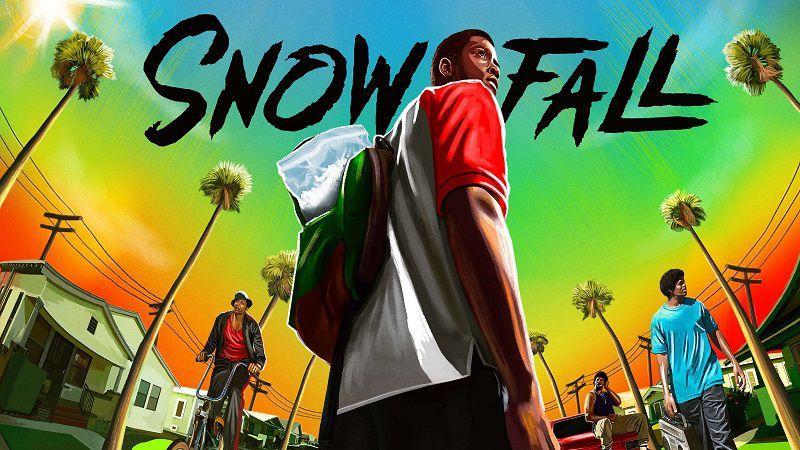 "Постер сериала ""Снегопад"""
