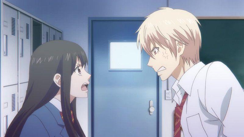 """Кадр из аниме """"Задержи этот звук!"""""""