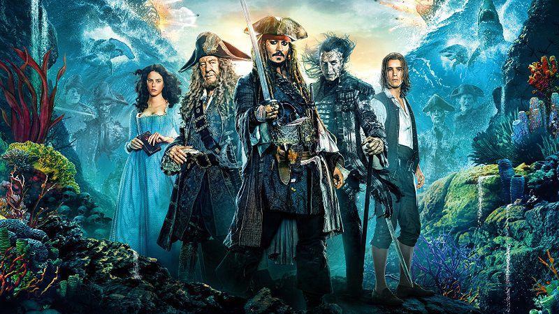"""Постер фильма """"Пираты Карибского моря"""""""
