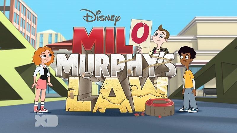 """Постер мультсериала """"Закон Мерфи"""""""