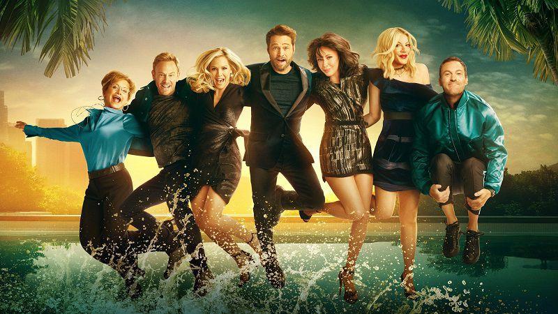 """Кадр из сериала """"БХ 90210"""""""