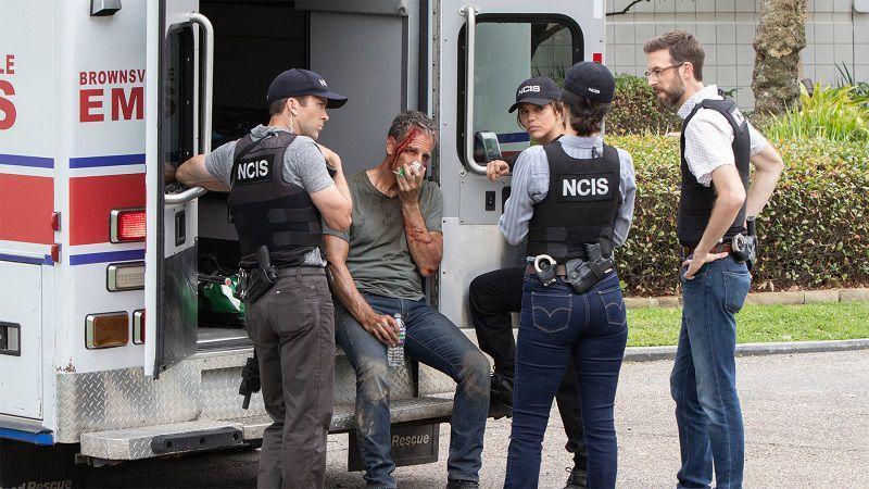 """Кадр из сериала """"Морская полиция: Новый Орлеан"""""""