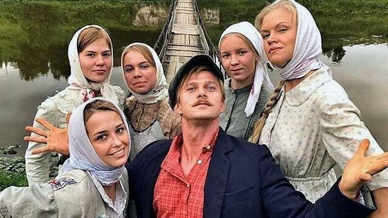 """Кадр из сериала """"Два берега"""""""
