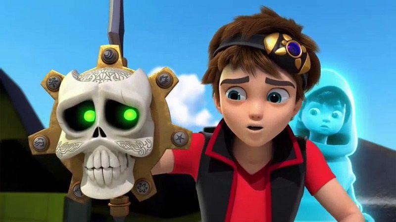 "Кадр из сериала ""Зак Шторм: Супер пират"""