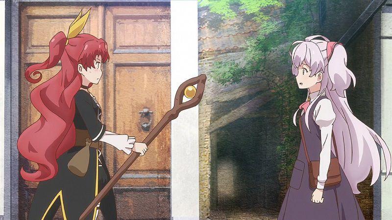 "Кадр из аниме ""Я сказала, усредни мои способности!"""