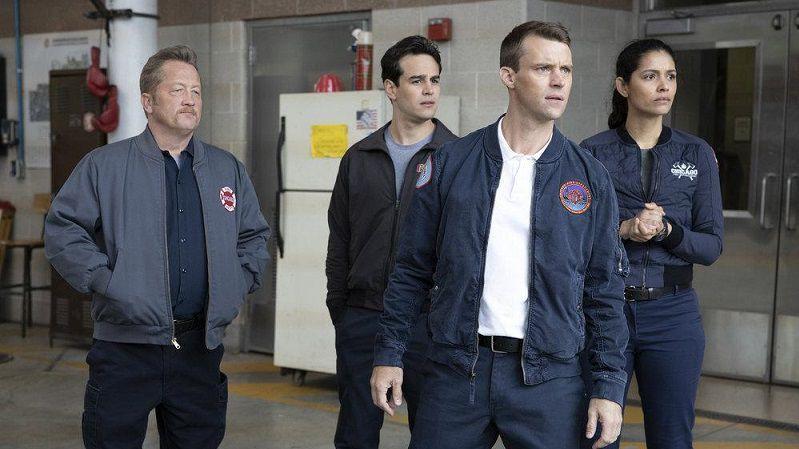 """Кадр из сериала """"Пожарные Чикаго"""""""