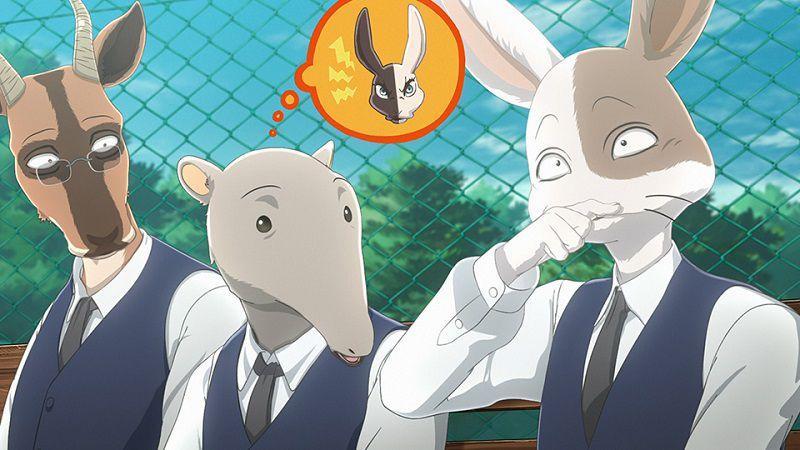 """Кадр из аниме """"Выдающиеся звери"""""""