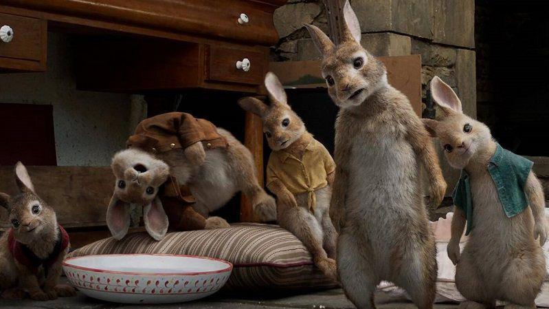 "Кадр из фильма ""Кролик Питер"""