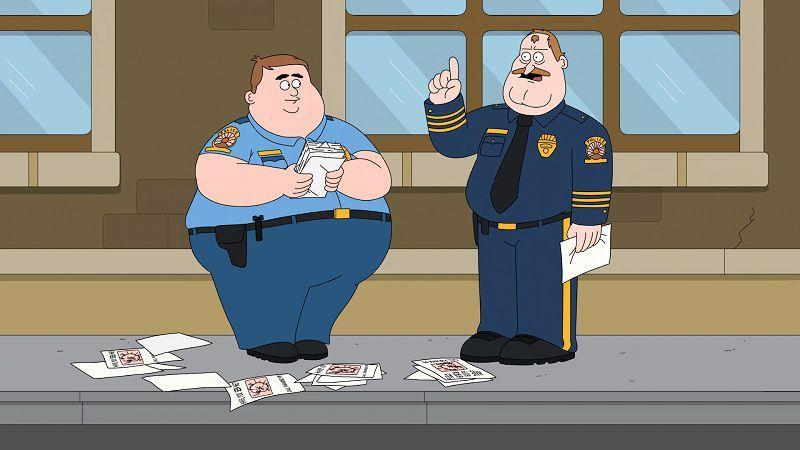 """Кадр из мультсериала """"Полиция Парадайз"""""""