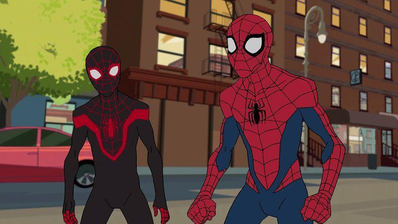 """Кадр из мультсериала """"Человек-паук"""""""