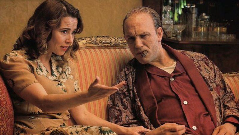 "Кадр из фильма ""Капоне. Лицо со шрамом"""
