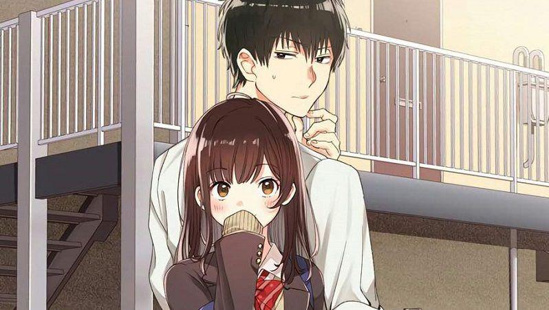 """Кадр из аниме """"Я побрился. Затем привел домой старшеклассницу"""""""