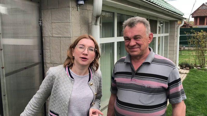 "Кадр из реалити-шоу ""Битва сватов"""