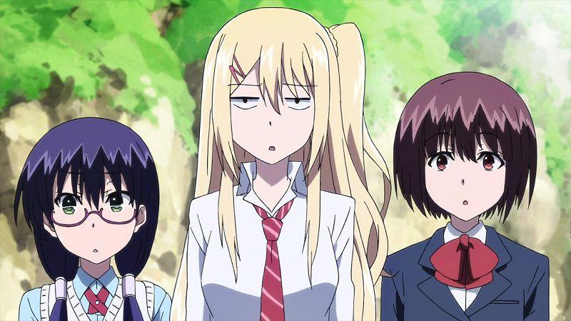 """Кадр из аниме """"Я стою на миллионах трупов"""""""